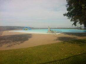 Ocean side public pool