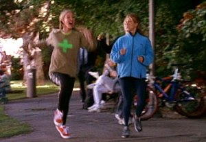 Phoebe Runs in Central Park